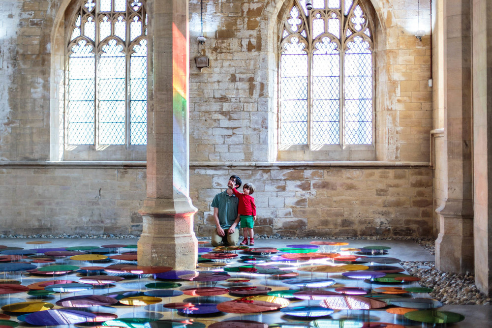 Our Color Reflection , at the 20-21 Visual Arts Centre in North Lincolnshire, UK– by Artist Liz West