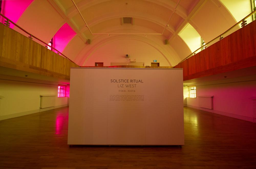 Solstice Ritual, at Penarth Pier Pavilion, Cardiff, Wales. image Credit: Yusuf Rustem
