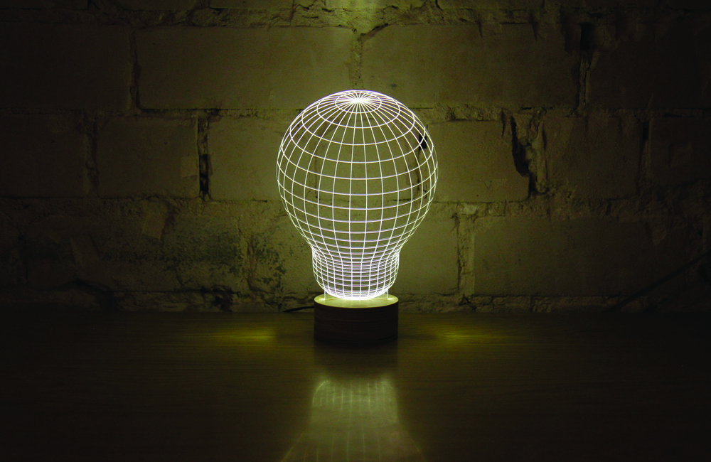 The Bulbing Lamp, from Bulbing by Studio Cheha