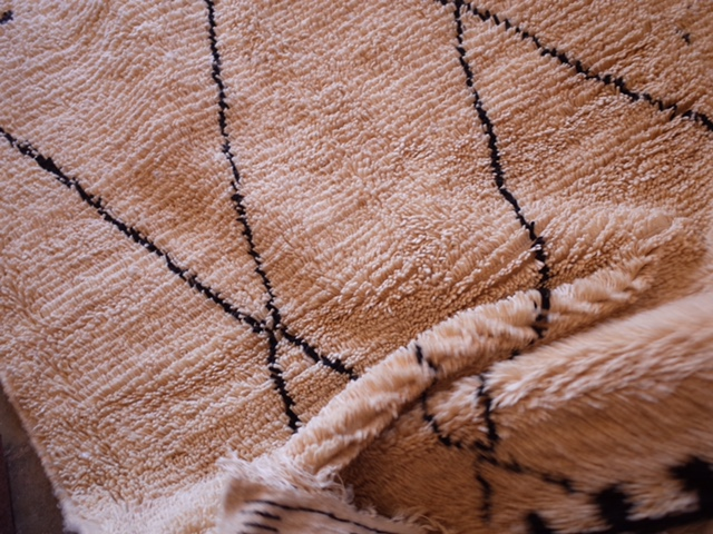 Co-designed rugs, created by the Moroccan weavers, are developing for the London Design Festival 2016.