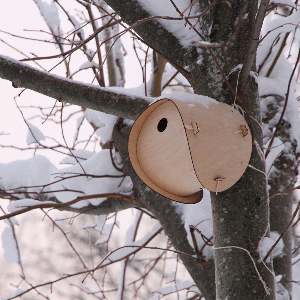 Flat Pack Birdhouse by SmithMatthias
