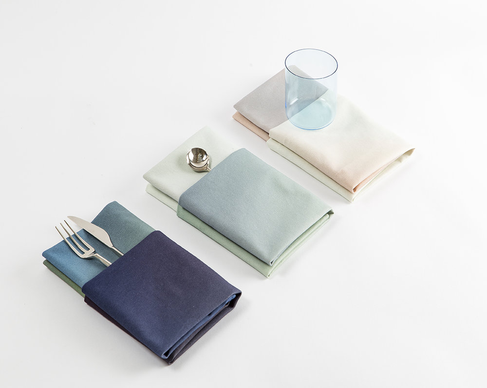 The   Hues Kitchen Cloths   by Rive Roshan debut at the London Design Festival this week. They can be seen and purchased at the Form&Seek Pop-Shop in BOXPARK,   Shored  itch, London till   September 25, 2016.