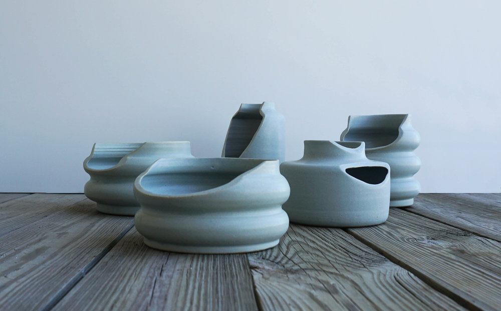 The  Compromise  collection of vessels by Bilge Nur Saltik