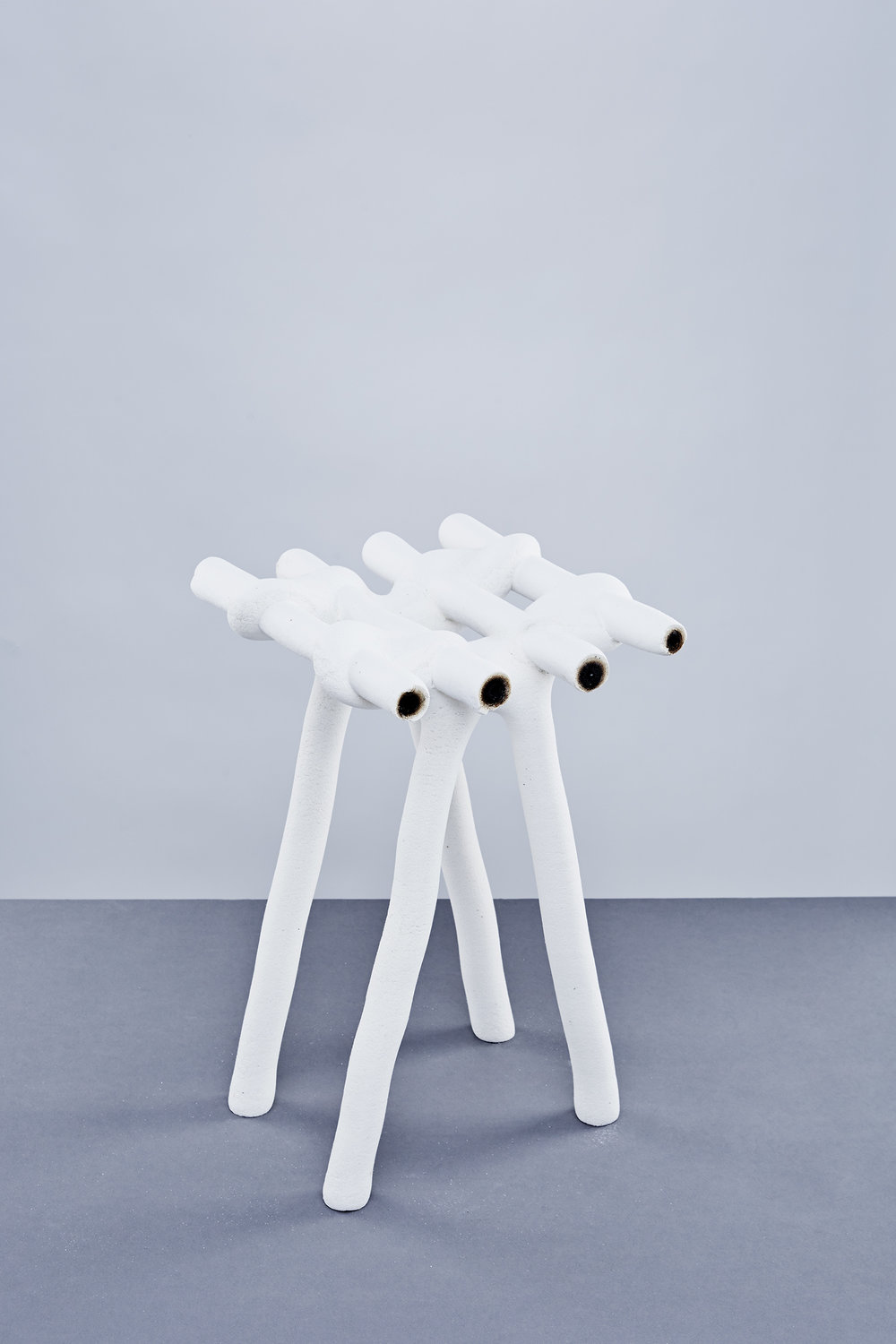A stool from Hot Wire Extensions by Studio Ilio