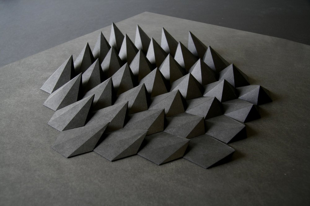 Sphex,  Paper 19 x 25 x 1 inches. 2012. By Matthew Shlian