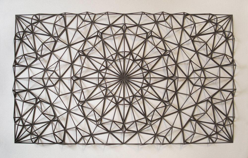 Ara 150,  Paper 26 x 40 x 2 inches,  2015. By Matthew Shlian.