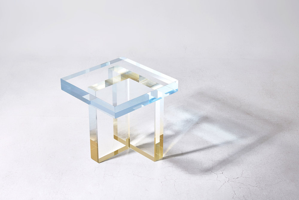 Crystal Series Table 1, Sky blue to yellow. Image source: Saerom Yoon
