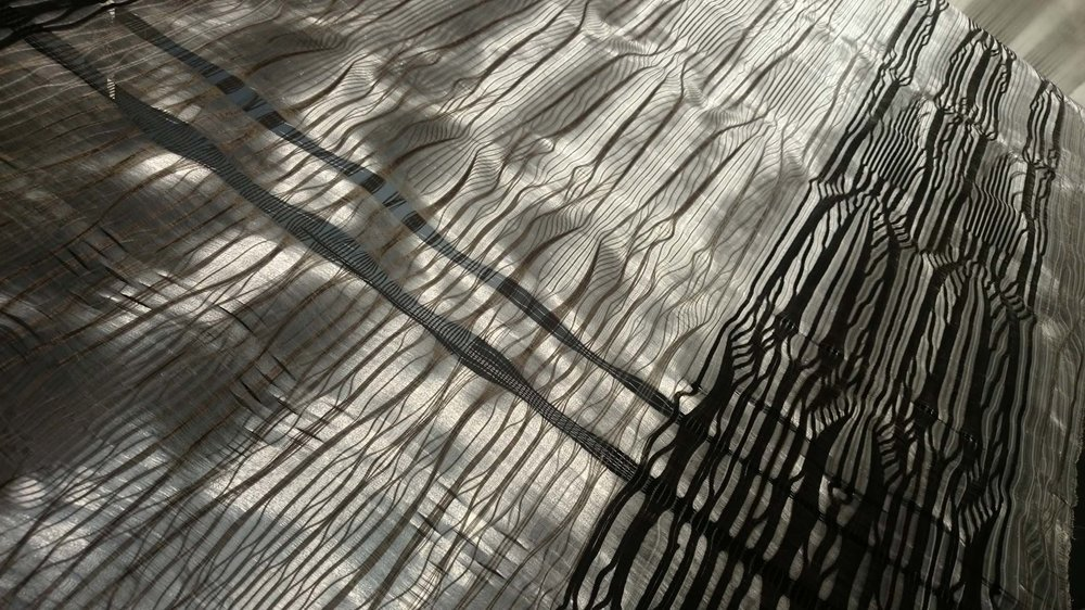 The vertical is highlighted in Rita's work, as seen in this directly sunlit X-Ray Vault Series II No II.