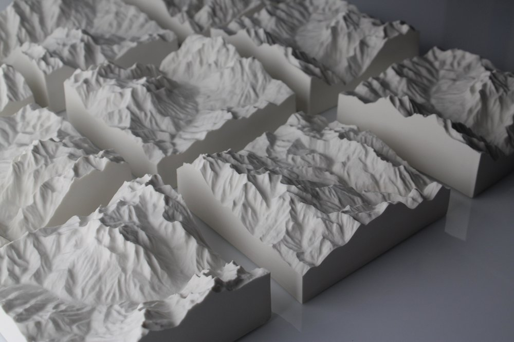 """Peaks"" Project by Oliver Binnian and Konstantinos Trichas, with Manos Kalamenios."