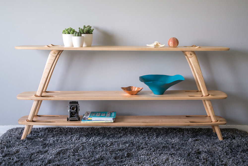 MULTI-TIER SHELF system by Ammar Kalo
