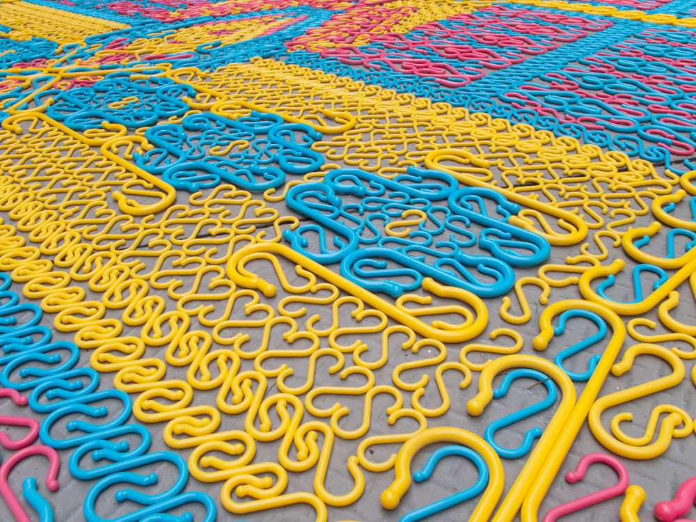 Detail of Hook Carpet by  We Make Carpets