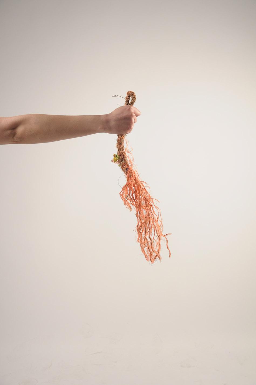 Metamorphism by Shahar Livne : The process of developing Lithoplast, Raw waste materials, Image courtesy Shahar Livne