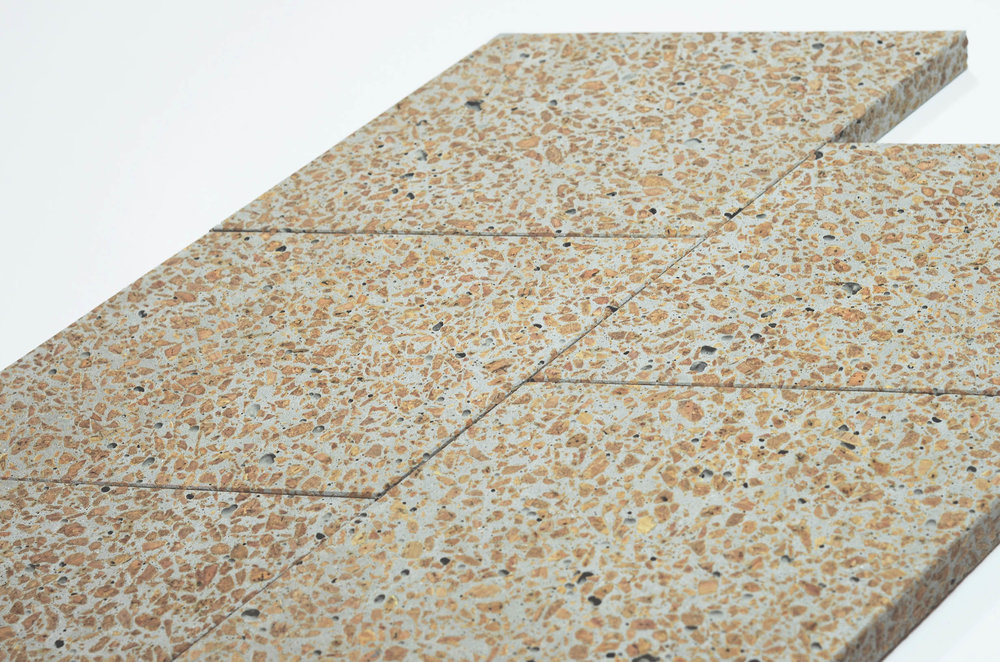 Corcrete Tiles–By  Studio Niruk