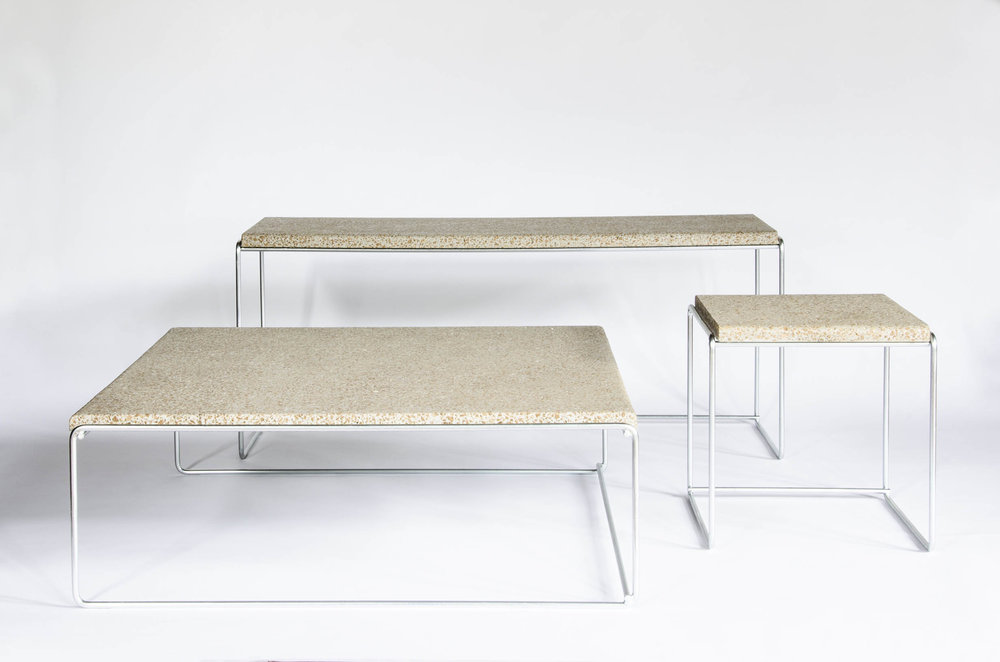 Corcrete Table–By  Studio Niruk
