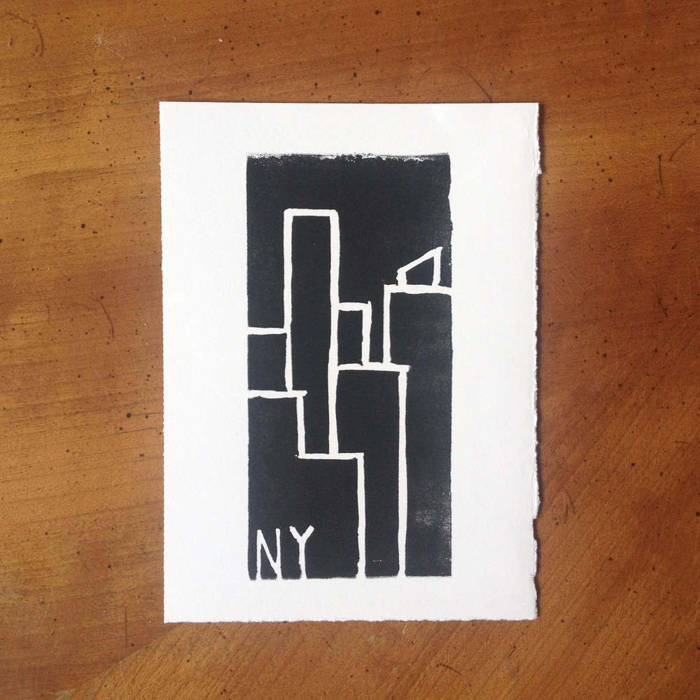 New York Skyscraper Print