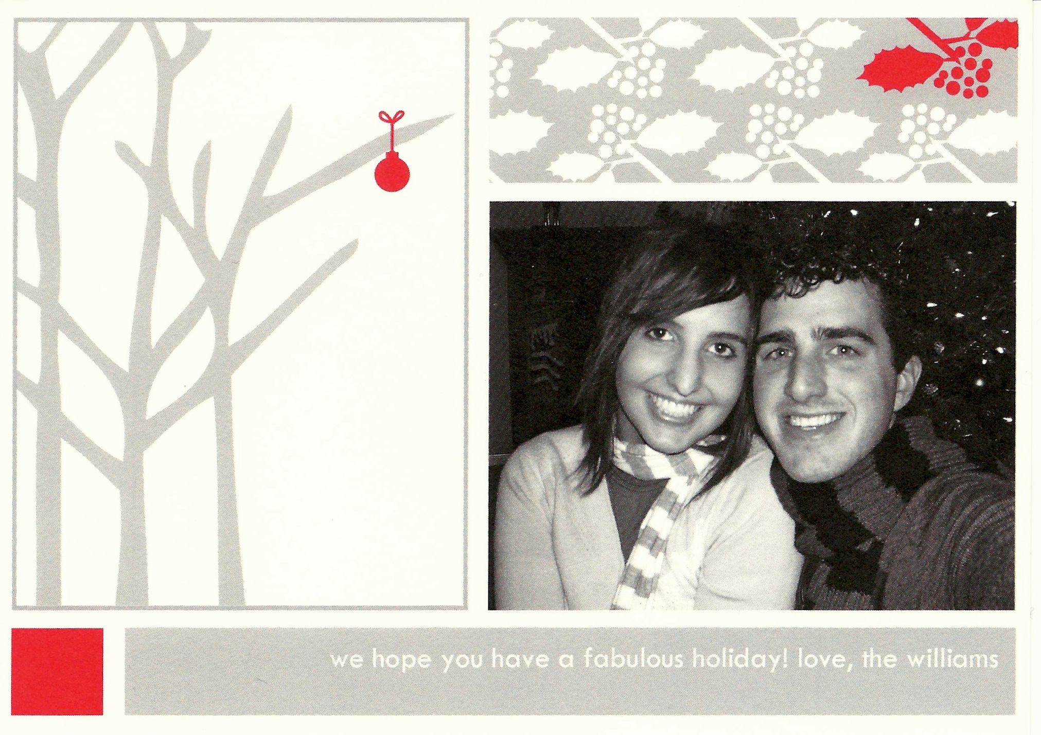 Williams Christmas card 2007