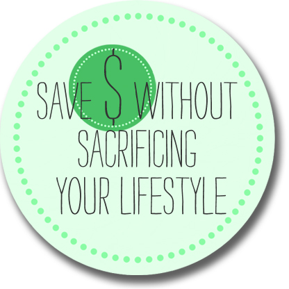 Saving cash without sacrificing lifestyle