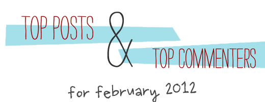 Words of Williams top posts february 2012