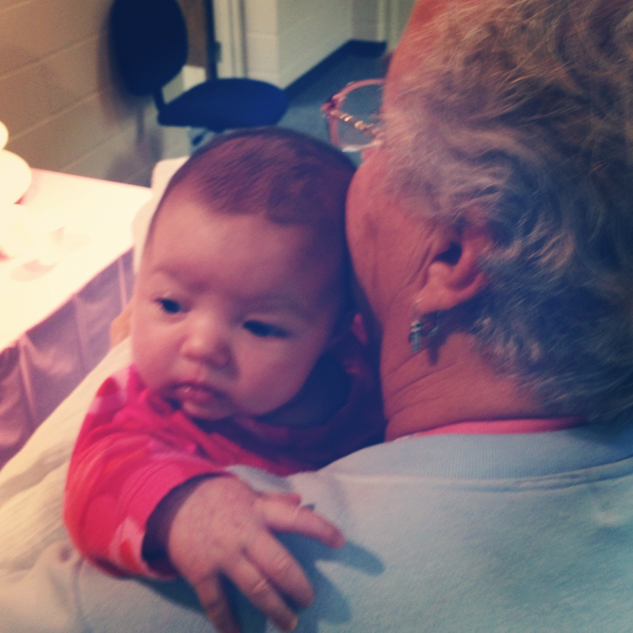 Rooney and Great Grandma