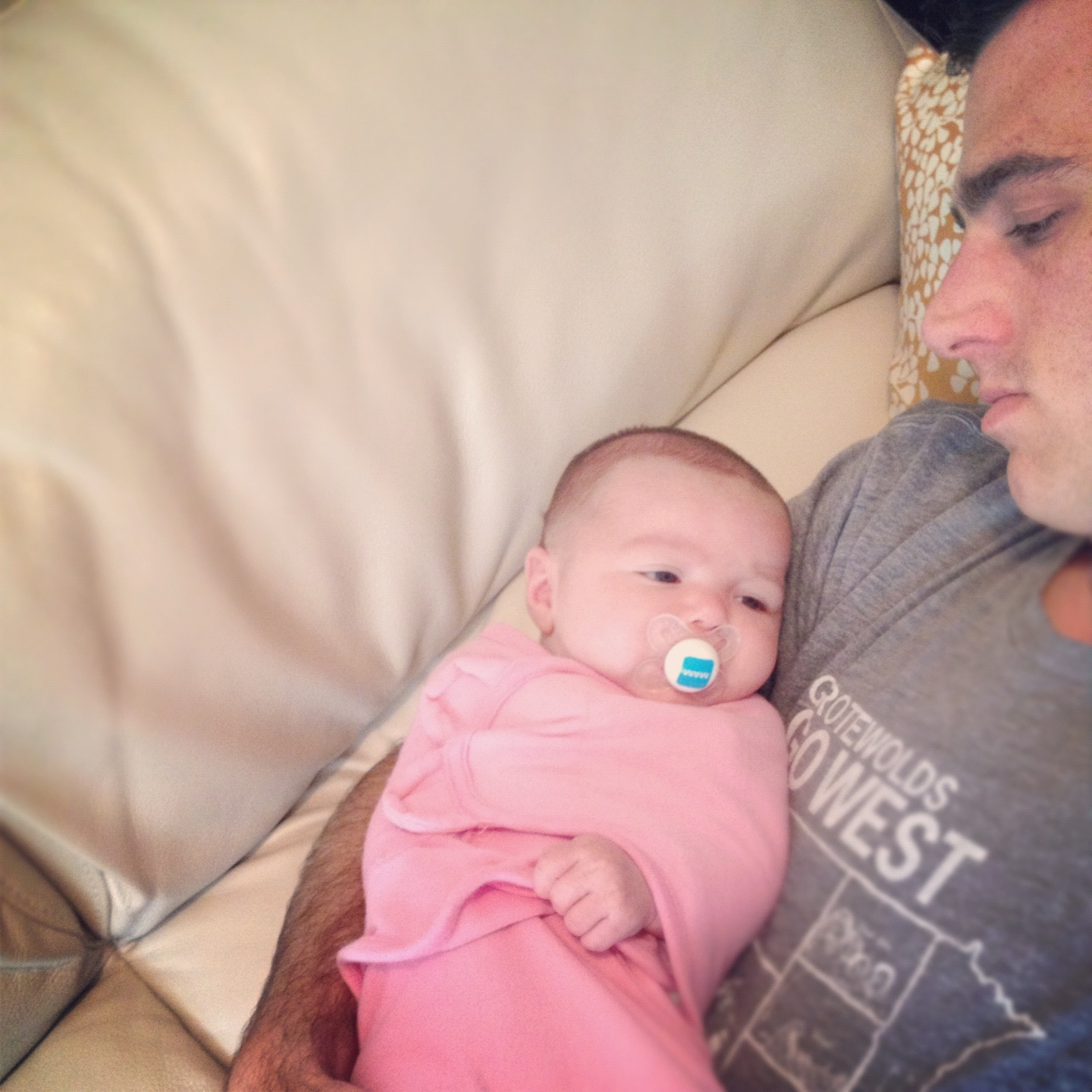 daddy daugher nap