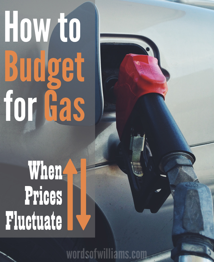 how to budget for gas