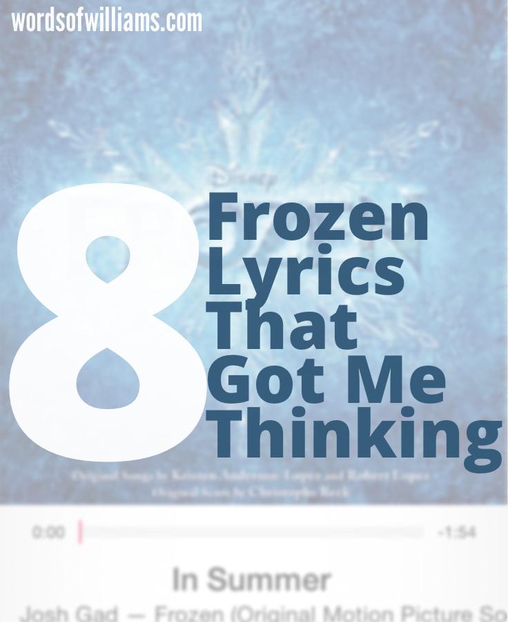Frozen Lyrics