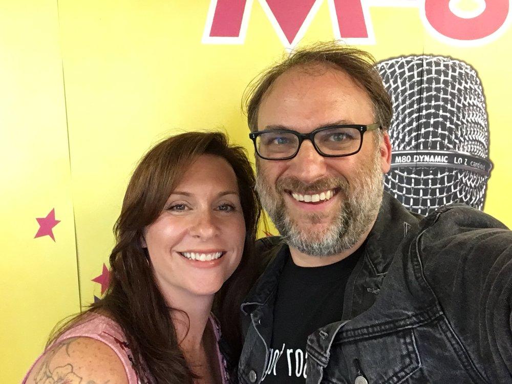 Barbara Copeland and I at Telefunken Studios in South Windsor, CT.