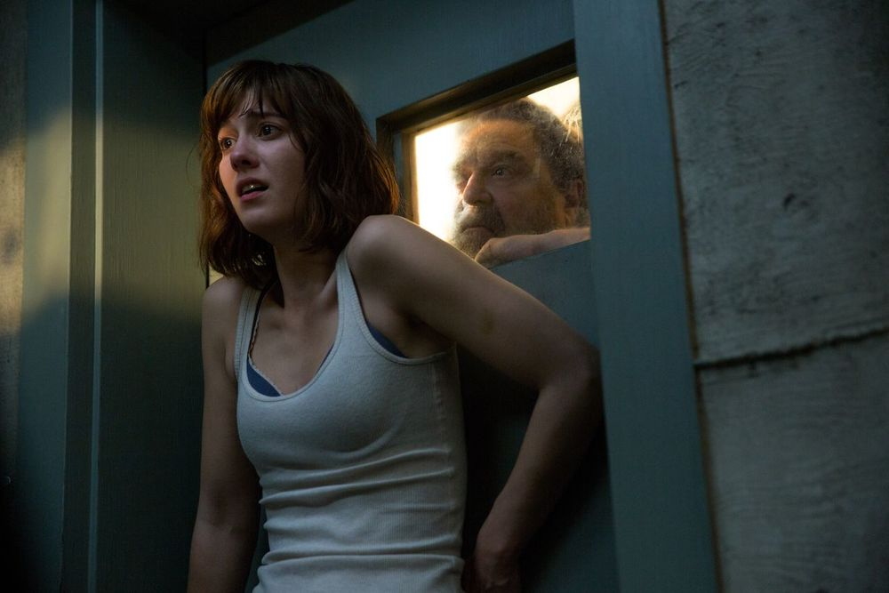Mary Elizabeth Winstead and John Goodman star in director Dan Trachtenberg's '10 Cloverfield Lane'