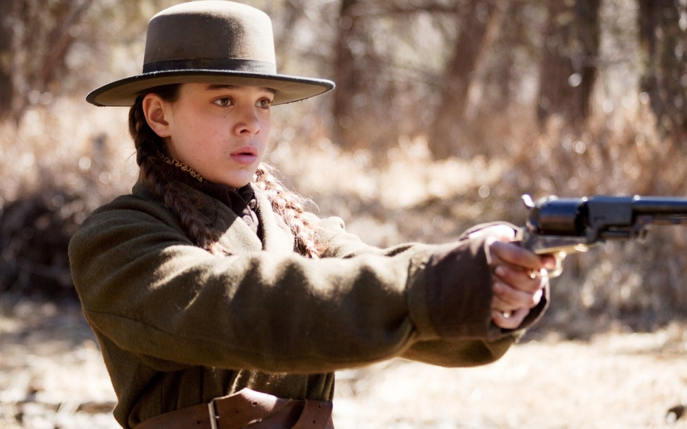 Hailee Steinfeld stars as Mattie Ross in the Coens' True Grit