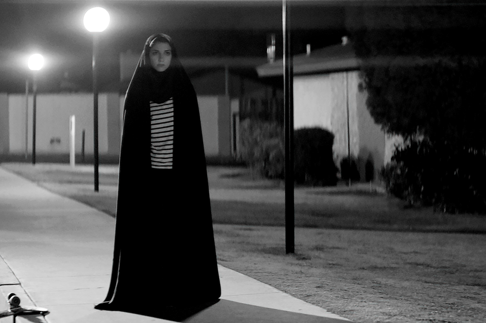 Sheila Vand stars in director Ana Lily Amirpour's  A Girl Walks Home Alone at Night