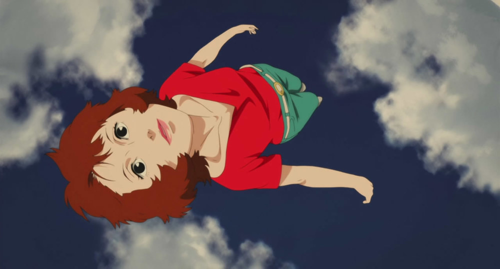 Paprika dreams of flying.  Paprika  is written and directed by Satoshi Kon.