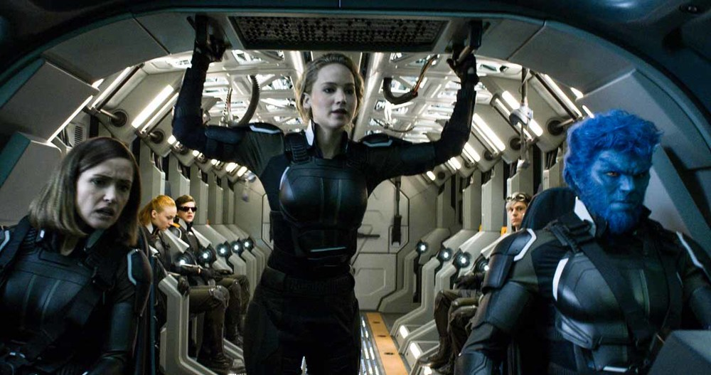 Rose Byrne, Jennifer Lawrence, and Nicholas Hoult star in  X-Men: Apocalypse