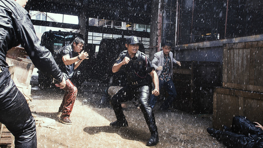 Wu Jing and Tony Jaa star in director Cheang Pou-soi's film  SPL 2: A Time for Consequences