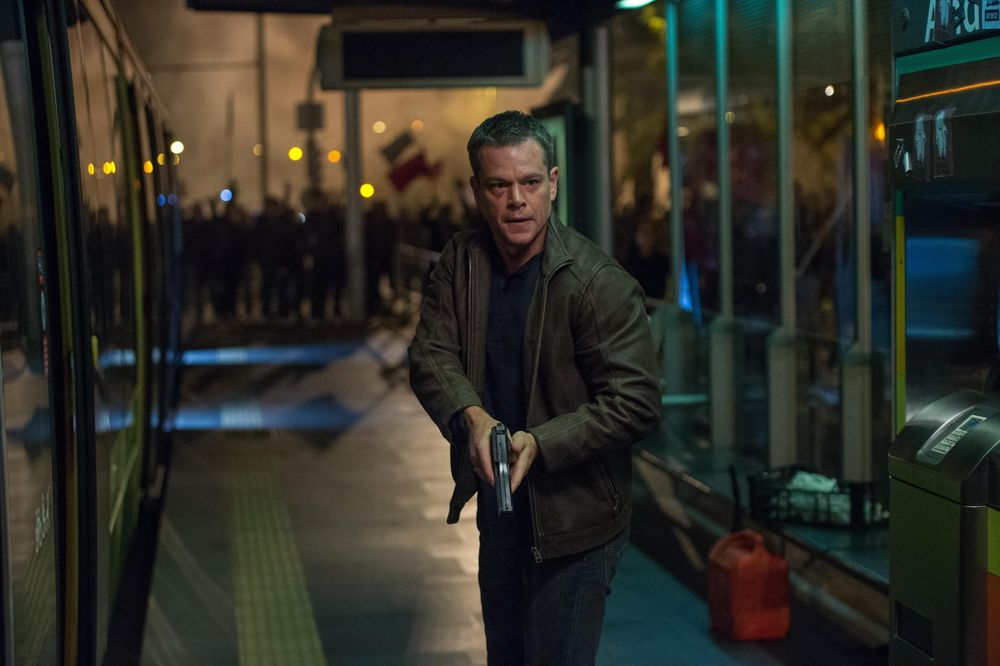 Matt Damon stars in  Jason Bourne