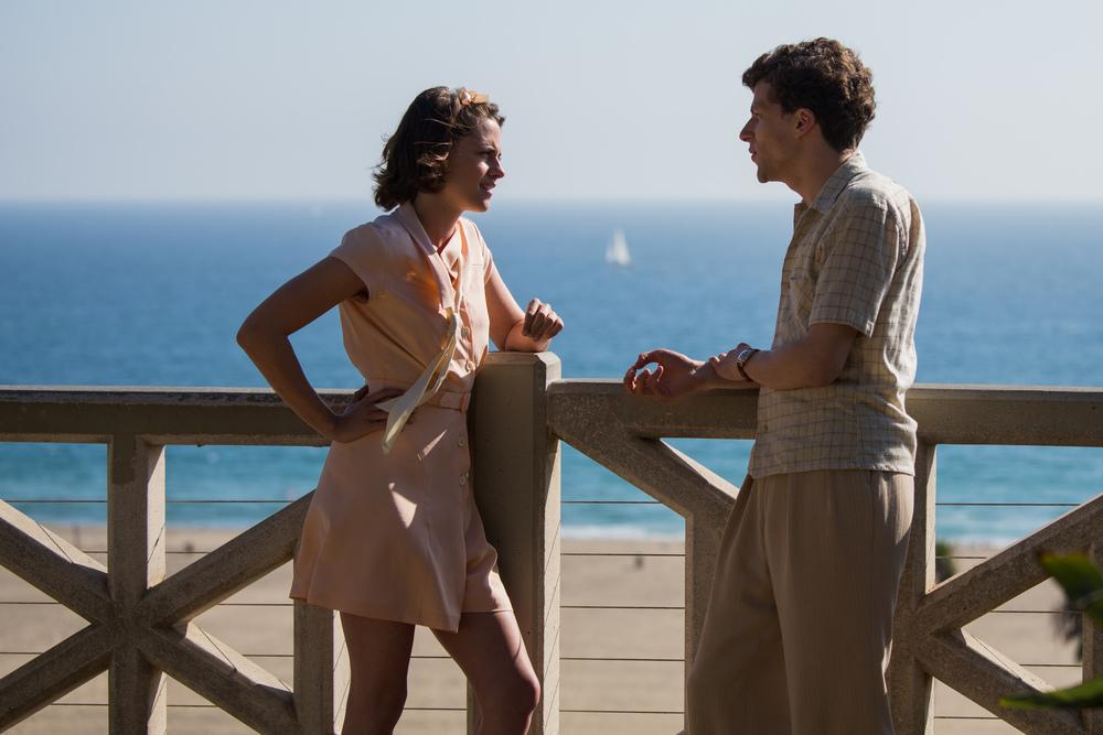 Kristen Stewart and Jesse Eisenberg star in  Cafe Society