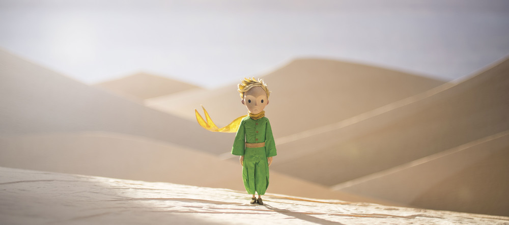 Jeff Bridges, Rachel McAdams, and Mackenzie Foy star in director Mark Osborne's  The Little Prince