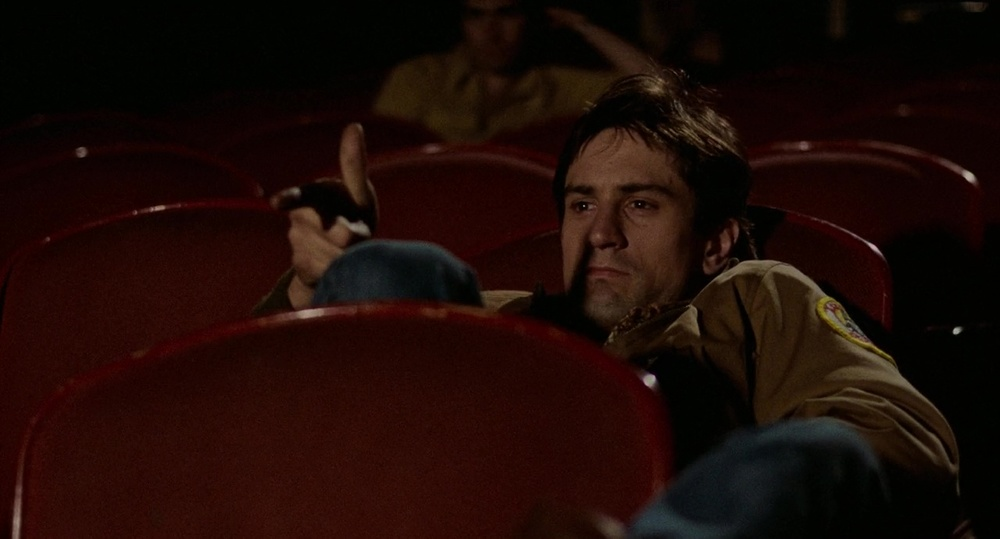 Robert DeNiro stars in  Taxi Driver