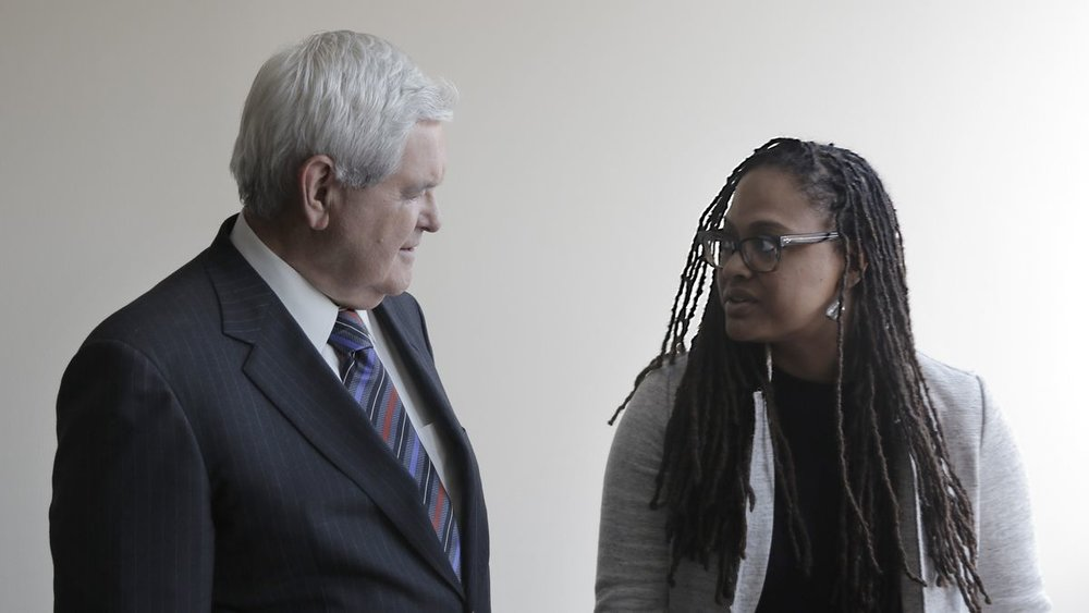 Former House Speaker Newt Gingrich is one of the many high-profile interviewees in director Ava DuVernay's documentary  13th