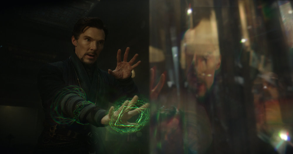 Benedict Cumberbatch stars in  Doctor Strange