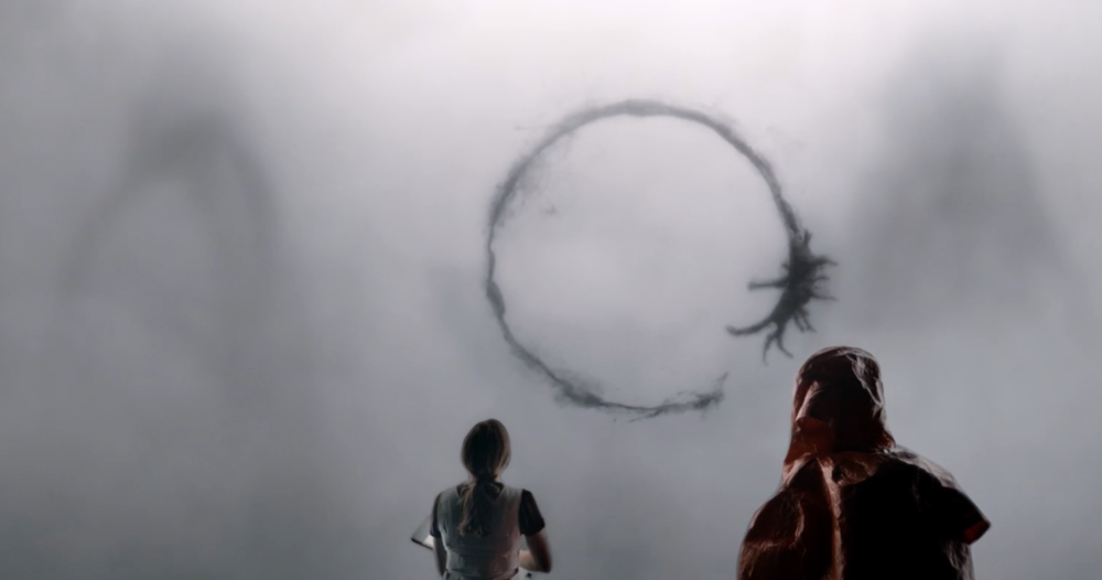 Amy Adams and Jeremy Renner star in director Denis Villeneuve's Arrival