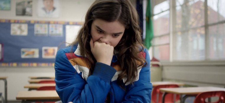 Hailee Steinfeld stars in director Kelly Fremon's Edge of Seventeen