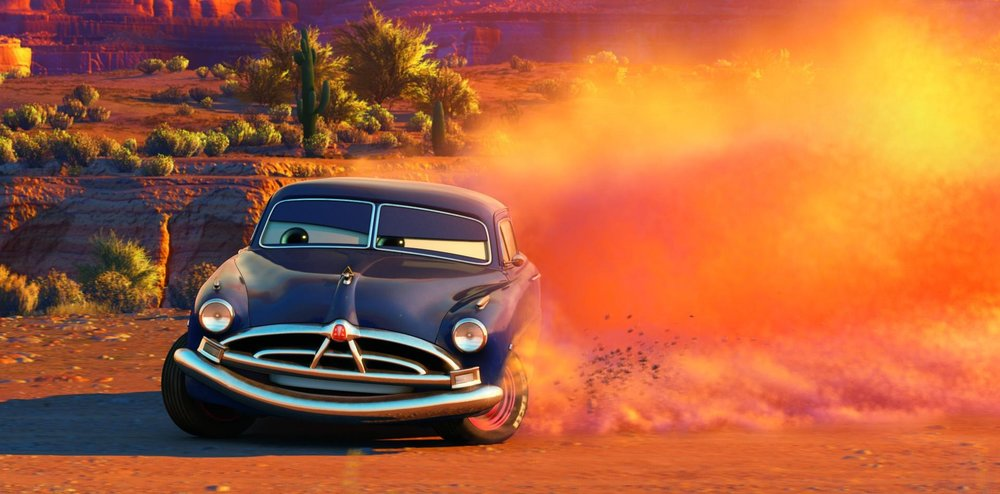Paul Newman (as well as Owen Wilson and Larry the Cable Guy), stars in Pixar's  Cars