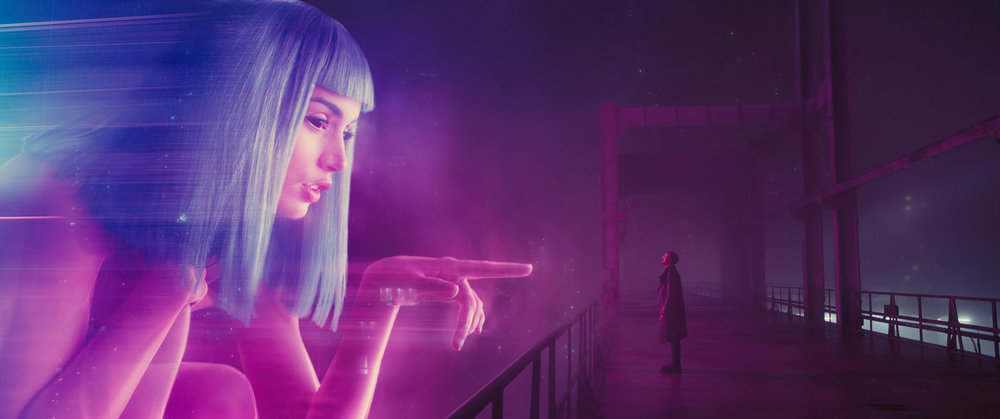 Ana de Armas and Ryan Gosling star in director Denis Villeneuve's  Blade Runner 2049