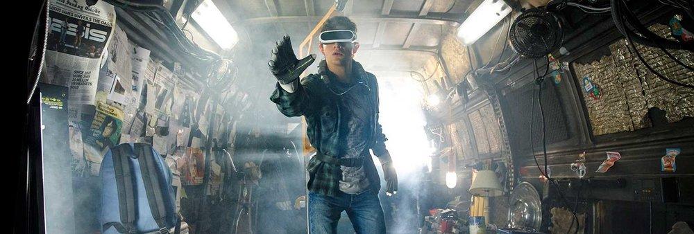 Tye Sheridan in Steven Spielberg's  Ready Player One