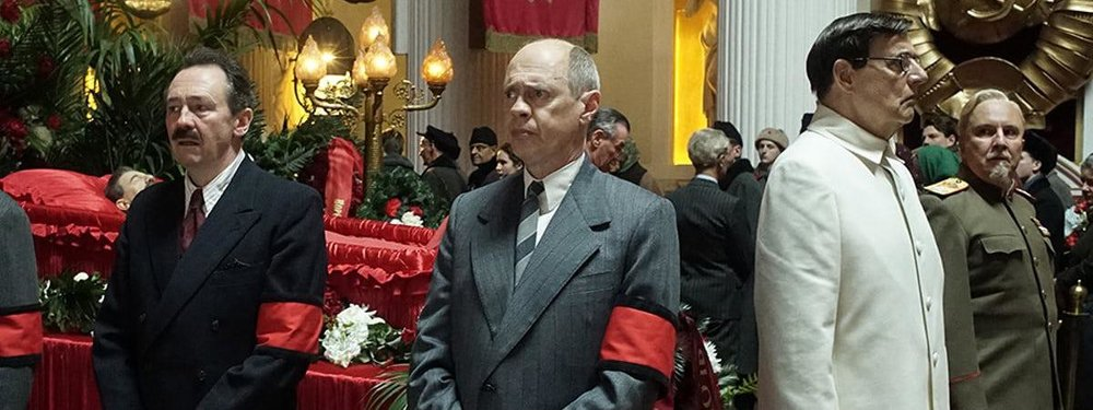 Michael Palin, Steve Buscemi, and Jeffrey Tambor star in director Amando Iannucci's  The Death of Stalin