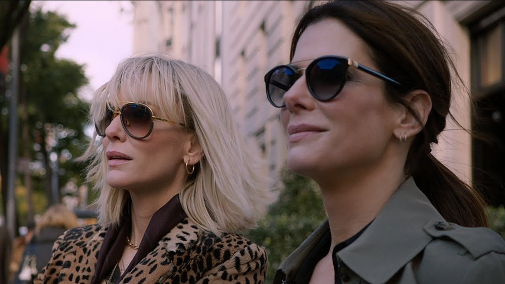 Cate Blanchett and Sandra Bullock in  Ocean's 8