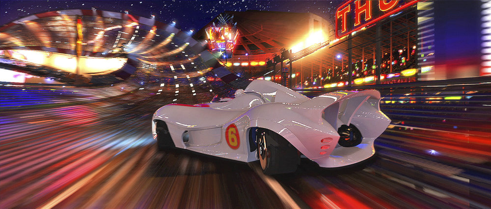 12. Speed Racer