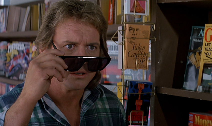 """Rowdy"" Roddy Piper stars in director John Carpenter's  They Live"