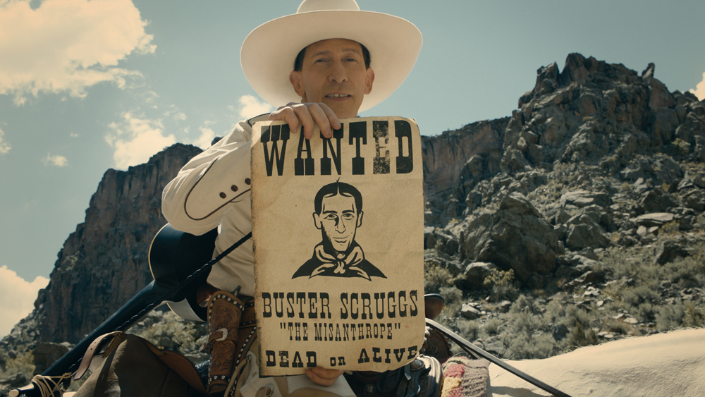 Tim Blake Nelson stars in the Coen Brothers'  Ballad of Buster Scruggs