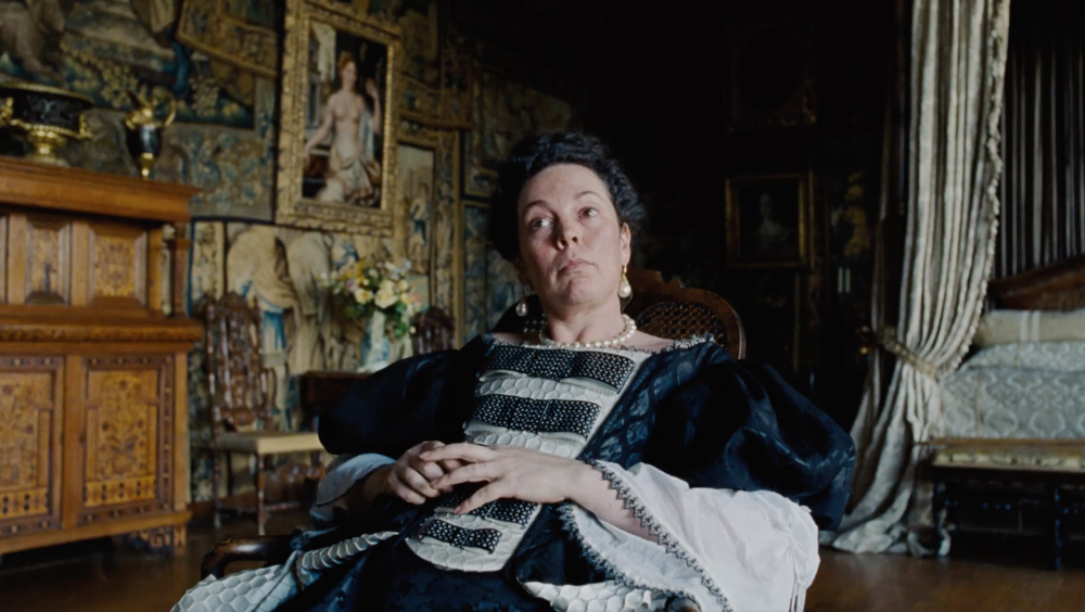Olivia Coleman stars in director Yorgot Lanthimos's  The Favourite